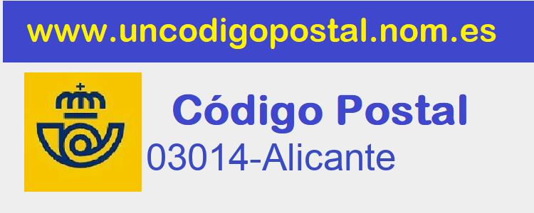 Codigo Postal 03014-Alicante>      </div>     </div>       <div class=