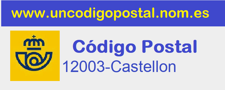 Codigo Postal 12003-Castellon>      </div>     </div>       <div class=