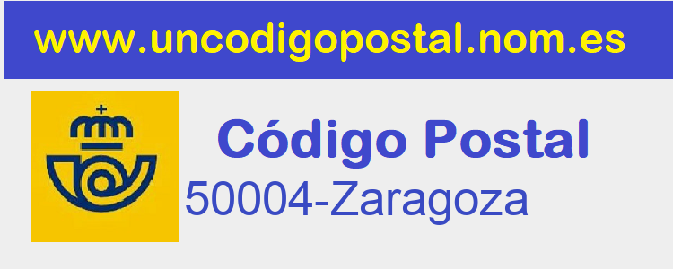 Codigo Postal 50004-Zaragoza>      </div>     </div>       <div class=