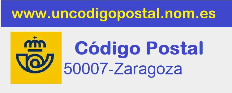 Codigo Postal 50007-Zaragoza>      </div>     </div>       <div class=